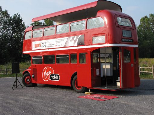 Virgin Mobile Events Bus