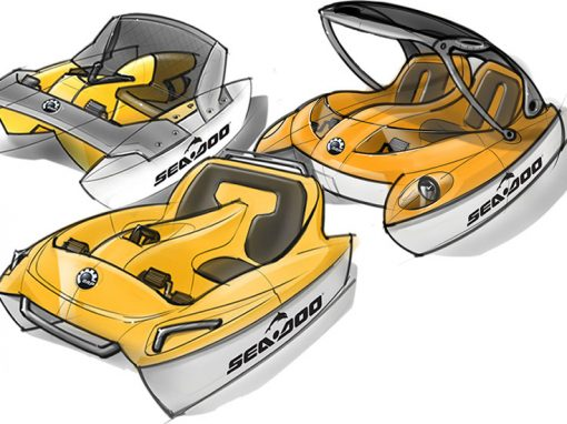 BRP Paddle Boats